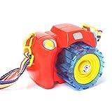 AWSW Bubble Machine Tragbar Mit Buntem Schlüsselband Blase Kamera Vollautomatisch Mit Lichtern und...