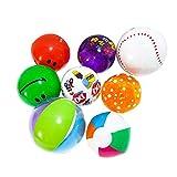 perfecti 10er Set aufblasbarer Wasserball Badeball Schwimmball Strandball Spielzeug Ball fr Kinder...