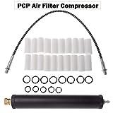 Ölwasserabscheider SENRISE 30 MPA Hochdruck-Luftfilter Kompressor Ölwasserregler für...
