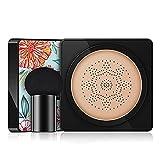 GOUER Mushroom Head Air Cushion BB Cream Bright Air Foundation, Nude Makeup Feuchtigkeitsspendender...