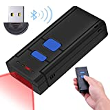 Kabellos Barcode Scanner Wireless 1D, Tragbarer Bluetooth- und kabelloser 1D-Barcodescanner,...