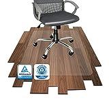 Floordirekt PRO - 16 Gren zur Wahl - Polycarbonat Bodenschutzmatte transparent mit TV fr Hartbden...