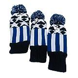 BESPORTBLE 3 Stück Golf Kopfbedeckungen Stoff Golfschlägerhüllen Elastische Golfschläger...