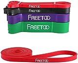 FREETOO Fitnessband Premium Resistance Bands Fitnessbänder Theraband Naturlatexmaterial...