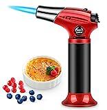 RenFox Flambierbrenner küchenbrenne Butan Gasbrenner mit Sicherheitsschloss Butangasbrenner Küche...