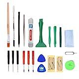 MMOBIEL 22 in 1 Reparatur ffnungs Werkzeug Kit Schraubendreher Set Fr iPhone, iPad, iPod iTouch PSP...