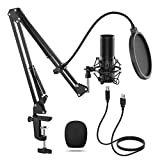 TONOR Q9 USB Mikrofon Kondensator Microphone Kit Nierencharakteristik