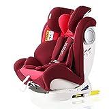 LETTAS Baby Kindersitz Autokindersitz Gruppe 0+1/2/3 (0-36 kg/0-12 Year) mit Protektoren seitliche...