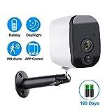 1080p WiFi-Kamera Batteriebetrieben 2.0mp Hd Wireless Security Ip-kameraüberwachung Wetterfeste...