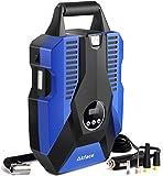Akface Luftkompressor Tragbare Auto Luftpumpe Digital Reifenfller DC 12V 150PSI Mobile Kompressoren...