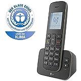 Telekom Sinus A207 Schnurlostelefon (mit Anrufbeantworter) schwarz