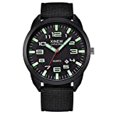 Quarzuhr Herren Armbanduhren, XINEW Outdoor Herren Date Edelstahl Military Sports Analog Quarz...