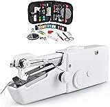 Handnähmaschine Mini Electric Handliche Nähmaschine Kompakte kleine tragbare leichte Nähmaschine...
