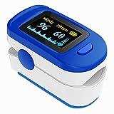 Fingerspitzen-Pulsoximeter, Sauerstoffmessgerät und Blutsättigung