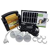Sylvialuca Solarpanel Speicher Stromerzeuger Home Outdoor Camping Power System Generator für...