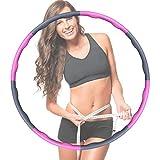 OneAmg Hula Hoop Reifen,Fitness Hula Hoop Reifen,Fitnessreifen Hoop Reifen Anfänger Verstellbare...