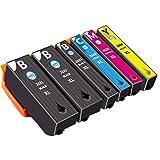 NTT 6 XL Druckerpatronen als Ersatz für Epson 26XL 26 Tinte kompatibel mit Epson Expression Premium...