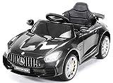 Actionbikes Motors Kinder Elektroauto Mercedes Amg GT-R - lizenziert – 2 x 25 Watt Motor –...