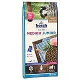 Dog Food Hundefutter Bosch Medium Junior Dry Premium Diät für Welpen mittelgroßer Rassen,...