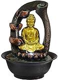 RYOG Statuen Dekoartikel Home Decor Ornament Figur Buddha Statue dekorative Brunnen...