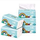 Aploa WC Papier Taschentuchpapier Haushaltspapier Gropackung Seidig Glatt Kitchen Paper Towels...