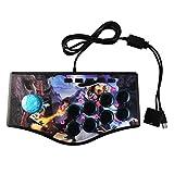 Sweo Neigbarer Game-Controller USB Joystick Gamepad für PS3 / PC Play Street Feeling für Gaming