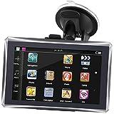 Touchscreen-GPS-Navigation, 5 Zoll 4GB kapazitiver Touchscreen-GPS-Navigator mit kostenloser Karte...