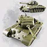 Alle leampp 2,4 GHz Fernbedienung Panzer Tank High Speed wiederaufladbare Wireless American Rotating...