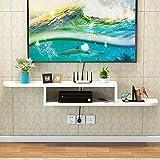 Schwimmdock Regal an der Wand befestigten Media Console TV-Konsole Home Media Entertainment Lagerung...