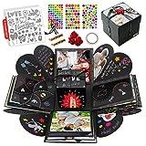 int!rend Explosionsbox I Geschenk DIY Foto Box Set I 5 Themen Schablonen, personalisierte...
