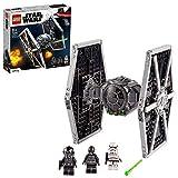 LEGO 75300 Star Wars Imperial TIE Fighter Spielzeug mit Sturmtruppler und Piloten als Minifiguren...