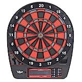 XQHD Electronic Dartboard Professional, Dartscheibe Elektronisch LCD Scoring Indicator with 6 Darts,...