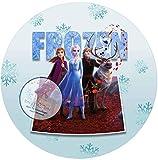 3D Pop-Out Effekt für die Geburtstags Torte, Zuckerbild mit dem Motiv: Frozen Die Eiskönigin,...