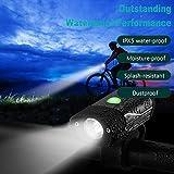 Mortimer Lamb Wasserdicht Frontlicht,Fahrradlicht - USB Wiederaufladbare LED Fahrradbeleuchtung -...