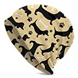 New Hot Style, Black Dog Bone Upgrade Fashion Hip-hop Adult Pullovers Knit Hut s for Men Women