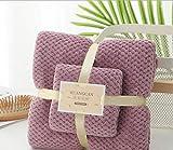huowu Schnelltrocknende Mikrofaser Handtuch Set Bade Gesicht Handtuch Wasser Absorbent Ananas...