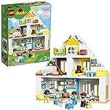LEGO 10929 DUPLO Unser Wohnhaus 3-in-1-Set, Puppenhaus fr Mdchen und Jungen ab 2 Jahren mit Figuren...