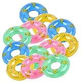 FunPa Mini Badespielzeug, 25PCS Kinder Badespielzeug Netter Mini Schwimmring Rollenspiel Spielzeug...