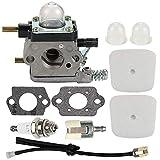 ACAMPTAR Vergaser mit Luftfilter-Repower-Kit fr 2-Takt-Mantis 7222 7222E 7222M 7225 7230 7234 7240...