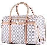 Groß Transporttasche Hundebox Katzenbox Tragetasche für kleine Hunde bis 5kg Hundetasche...