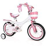 eLy Kinderfahrrad, Fahrrad, Mädchen, Baby, Kinderwagen für 2-10 Jahre, Geschenk, 15,7 Zoll,...