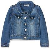NAME IT Mädchen NITSTAR RIKA DNM Jacket NMT NOOS Jacke, Blau (Medium Blue Denim), 152