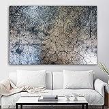 WSWWYPoster wandkunst leinwand malerei Landschaft textur unterirdischen wandbilder für...
