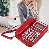 Erweiterungsset Noise Cancelling Langlebiges schnurgebundenes Telefon mit Anrufbeantworter als...