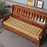 Bankkissen für 2- und 3-Sitzer, für drinnen und draußen, Gartenbank, Sitzkissen 100/120 cm,...
