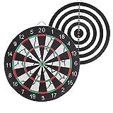 ZAOLG Dart Board Set Dart Boards FüR Erwachsene - Reduzieren Sie Das Bouncing-Cork Board Dart Game...