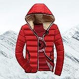 Daunenjacke Warm Halten Winter Jacke Männer Mit Kapuze Warme Jacken Und Mäntel Herren Winter...