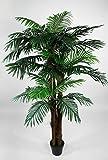 Seidenblumen Roß Phönixpalme 3-stämmig 180cm ZJ künstliche Palmen Palme Kunstpalmen...