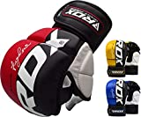 RDX MMA Handschuhe Profi UFC Kampfsport Sparring Freefight Sandsack Trainingshandschuhe Grappling...