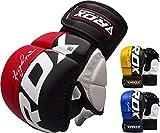 RDX MMA Handschuhe Profi Kampfsport Sparring Freefight Sandsack Trainingshandschuhe Grappling Gloves...